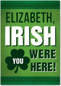 St Patricks Day Cards Irish Wish - From treat.com