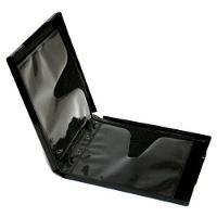 Premium Grade 16mm 6 Disc Black CD DVD PP Poly Cases