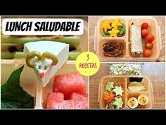 Lunch saludables para niños: 3 recetas - YouTube