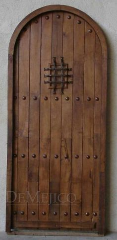 Bon Spanish Style Door  Without No Speak Easy. Add Clavos U0026 Dummy Strap Hinges  I Need 4 For For Theater, 1 For Our Bedroom