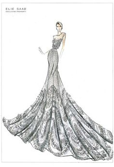 """Elie Saab - designer  Who was I in my past life that I keep loving """"over the top"""" gowns"""