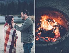 Love this - go fishing for your engagement photos! Photo by Gina and Ryan Photography via @IBTblog
