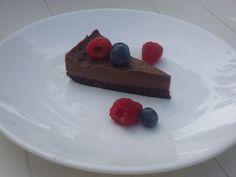 RAW chocoladetaart!