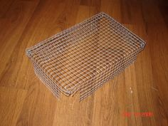 Here's a homemade grate for a litter box - I plan to do something like this since one of my litter boxes does not have a grate. This is less expensive than buying a sanitary box.  You need at least three litter boxes for your house rabbit when he's running around.