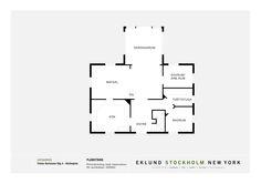 Fiskar Karlssons väg 4 - Ingarö - ESNY Stockholm, Floor Plans, New York, New York City, Floor Plan Drawing, House Floor Plans