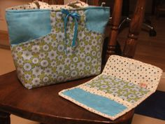Margo bag and matching tri-fold wallet