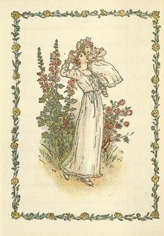 June - Kate Greenaway's Almanack for 1897