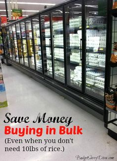 How to Save Money Buying in Bulk (Take a Friend)
