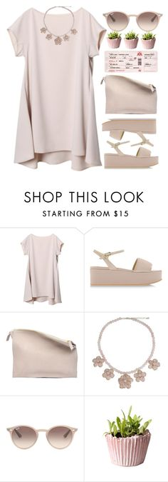 """""""Victory is in my veins"""" by andrea99x ❤ liked on Polyvore featuring Pollini, Sabrina Zeng, NOVICA and Ray-Ban"""