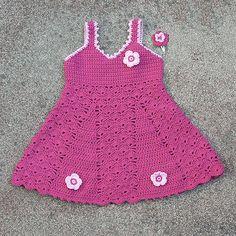 Laura's Crocheted Sundress