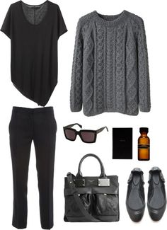 Style - Minimal + Classic - like this but my version would have more durable footwear.