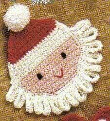 Bolle toetje kerstman
