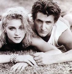 Madonna and Sean Penn... What a sexy couple