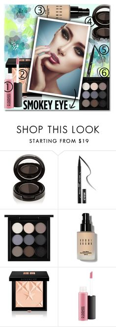 """""""Smokey Eye"""" by anilovic ❤ liked on Polyvore featuring beauty, Anastasia Beverly Hills, Kat Von D, MAC Cosmetics, Bobbi Brown Cosmetics and Givenchy"""