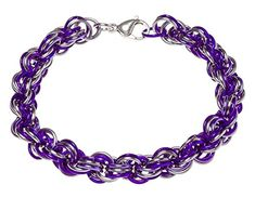 Amazon.com: Chainmail Anklet Shangri-La Weave: Jewelry