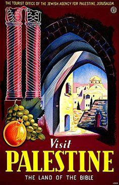 'Visit Palestine' (3) - Wonderful A4 Glossy Art Print Tak... https://www.amazon.co.uk/dp/B01IN1D51S/ref=cm_sw_r_pi_dp_1WjJxbMC47PVV