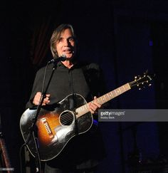 Jackson Browne performs at City Winery at the Marc Cohn show on January 7, 2014 in New York City.