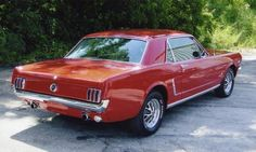 1965 Mustang, my first car. Still have it, still love it. On another note, this one is not mine, but looks just like it.