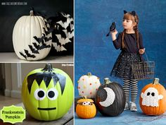 Host a Pumpkin Decorating Party! Several ideas from easy no-carve to challenging! Best Pumpkin, Pumpkin Spice, Pumpkin Decorating, Spooky Halloween, Pumpkin Carving, Party Ideas, Create, Easy, Scary Halloween