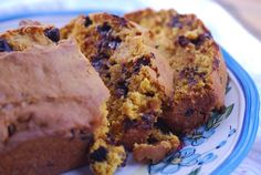 Chocolate Chip Pumpkin Bread- Weight Watchers