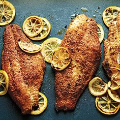 Bayou Catfish Fillets | MyRecipes.com #myplate #protein