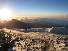 I climbed Mt. Kilimanjaro to Jamaican Hut, two hours from the top when I was 16. Round two will follow soon.