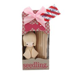 Seedling Colour Me Kokeshi Doll Craft Kit|Create your own beautifully coloured Kokeshi Doll keepsake #Seedling #kidsgiftsau #kidscraftau #kawaii #giftsforgirlsau