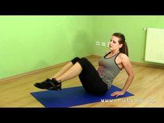 Z fleku pevné břicho a paže - sestava pro začátečníky - YouTube Body Fitness, Health Fitness, Move Your Body, Stay In Shape, Excercise, Abs, Relax, Pilates, Workout