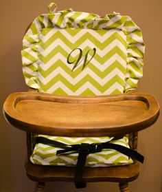 Perfect High Chair Cove: Grayr / Highchair Cover/ High Chair Cushion / Wooden High  Chair Pad / Highchair Cushion / Highchair Pad / Vintage /monogram | Gray  Chevron, ...