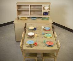 ... Public Museumu0027s Amazing Collection: Accession Name/Title:  U0027Expand O Maticu0027 Buffet And Table Maker: Saginaw Furniture Shops Maker:  Sears, Roebuck U0026 Co.