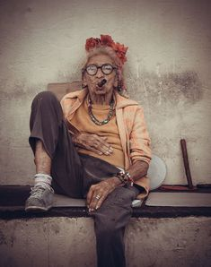 Old Woman Photo by Vladislav Samorukov -- National Geographic Your Shot