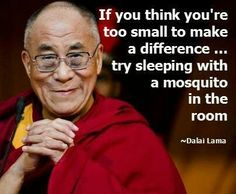 If you think you are too small!  #positive #motivation  One motivational life