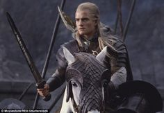 Hair debut: He captured the hearts of females with his long, flowing blond hair as Legolas in the Lord of the Rings franchise, which ran between 2001 until 2014
