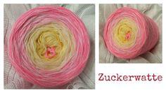 Zuckerwatte: (Mix) 3 Farben  vanille rosa blüte