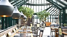 Clementine Restaurant at Palais Coburg for gourmet pleasure which is full of memories and surprises. There's no garden finer in all of Vienna.