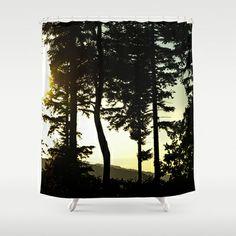 Beyond the dark forest Shower Curtain by Pirmin Nohr - $68.00