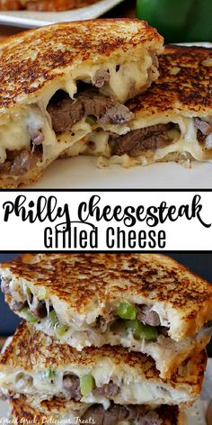 Philly Cheese Steak Seasoning, Philly Cheese Steak Sandwich, Grill Cheese Sandwich Recipes, Grilled Cheese Recipes, Grilled Cheese Sandwiches, Perfect Grilled Cheese, Steak Quesadilla, Cheesesteak Recipe, Grilled Bread