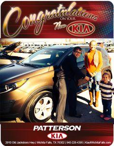 Congratulations to Crystal Nolan on her New 2013 Kia Sportage! - From Brandon Warton at Patterson Kia!