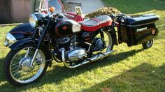 Pannonia With A Duna Sidecar Antique Motorcycles, Cars And Motorcycles, Cargo Trailers, Custom Harleys, Eastern Europe, Motorbikes, Harley Davidson, Vehicles, Classic