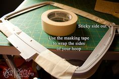 Quilting with embroidery machine. MUST try this.