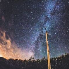 """""""How incredible is this view of the night sky? Big thank you to @matt.andersen for capturing this incredible moment in Peru (Illinois, of course.) Where do you want to stargaze in the Land of Lincoln this summer? Share with us by tagging #EnjoyIllinois"""" Photo taken by @enjoyillinois on Instagram, pinned via the InstaPin iOS App! http://www.instapinapp.com (06/30/2015)"""