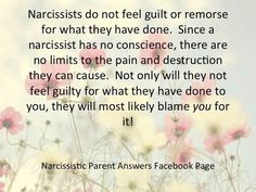 Narcissists: no guilt or remorse Narcissistic People, Narcissistic Mother, Narcissistic Behavior, Narcissistic Sociopath, Narcissistic Personality Disorder, Emotional Vampire, Emotional Abuse, Abusive Relationship, Toxic Relationships