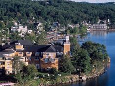 Meredith, NHSituated on New Hampshire's Lake Winnipesaukee, Mill Falls is practically a city in itse... - Photo courtesy Mill Falls at The Lake