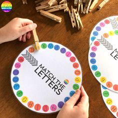 Learning The Alphabet - 20 Simple Hands-On Activities to Try Activities For 5 Year Olds, Toddler Learning Activities, Alphabet Activities, Language Activities, Kids Learning, Upper And Lowercase Letters, Lower Case Letters, Literacy Activities, Literacy Centers