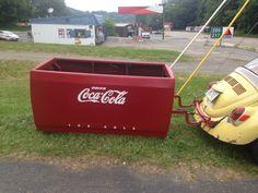 Coke Machine, Toy Chest, Storage Chest, Decor, Decoration, Decorating, Deco