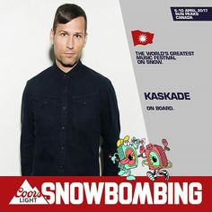 Kaskade playing Snowbombing Festival in April 2017