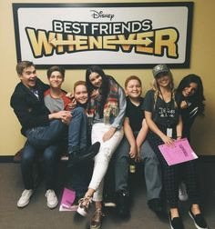 On Wednesday (April 6, 2016), the cast of Disney Channel's Best Friends Whenever began working on season 2 of their show.  Landry Bender was with her co-s