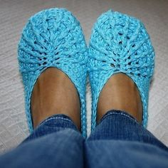 Crochet PATTERN Spider Slippers adult sizes