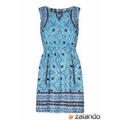 Mela Summer dress blue #summerdress #sunny #women #covetme