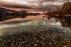 Bomba's Lake at dusk
